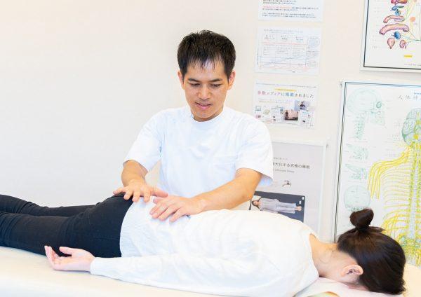 DRT整体で背骨を揺らす