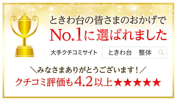 口コミ数地域NO!